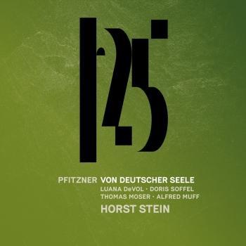 Cover Pfitzner: Von deutscher Seele (Live)