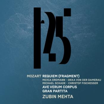 Cover Mozart: Sereande No. 10, 'Gran partita', Requiem (Fragment), Ave verum corpus [Live]