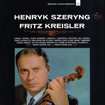 Cover Szeryng plays Kreisler