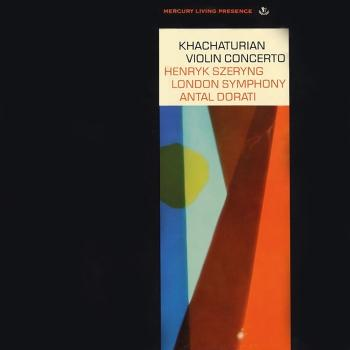 Cover Khachaturian: Violin Concerto (Remastered)
