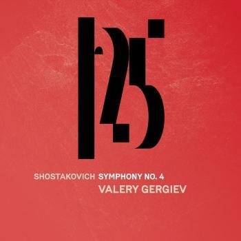 Cover Shostakovich: Symphony No. 4 (Live)