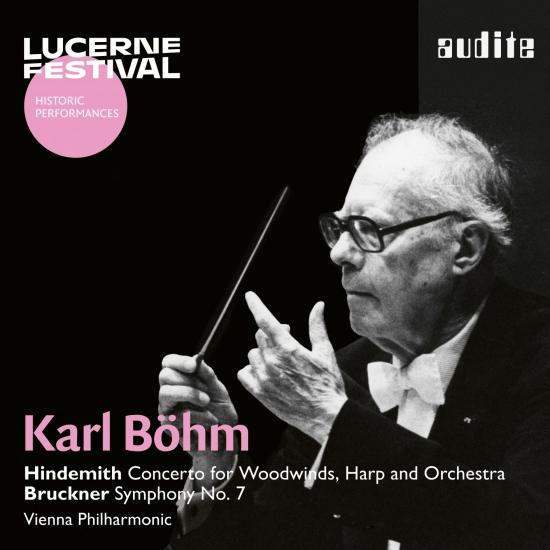 Cover Karl Böhm conducts Hindemith & Bruckner (Live, Remastered)