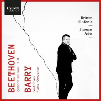 Cover Beethoven: Symphonies 1, 2 & 3 - Barry: Beethoven & Piano Concerto