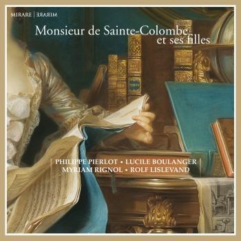 Cover Monsieur de Sainte-Colombe et ses filles
