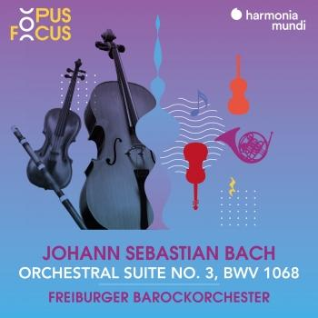 Cover J. S. Bach: Orchestral Suite No. 3, BWV 1068
