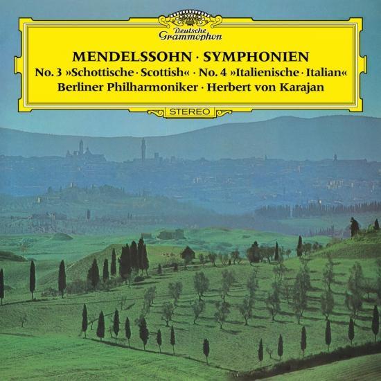 Cover Mendelssohn: Symphonies Nos. 3 & 4 (Remaster)