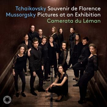 Cover Tchaikovsky: Souvenir de Florence, Op. 70, TH 118 - Mussorgsky: Pictures at an Exhibition (Arr. for String Ensemble)