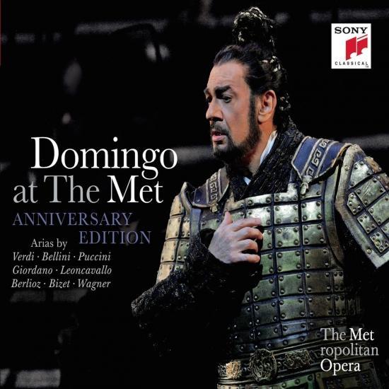 Cover Plácido Domingo at the MET