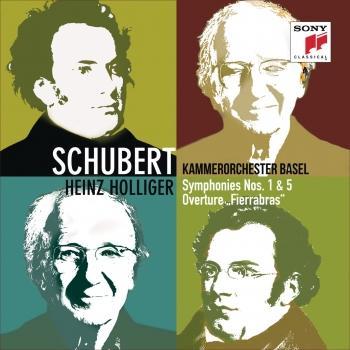 Cover Schubert: Symphonies Nos. 1 & 5, Overture Fierrabras