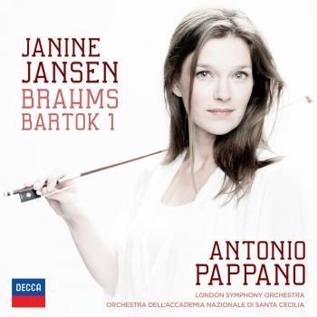 Cover Brahms: Violin Concerto; Bartók: Violin Concerto No.1