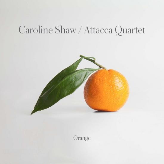 Cover Caroline Shaw: Orange