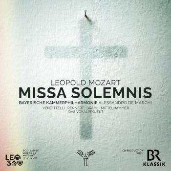 Cover Leopold Mozart: Missa Solemnis