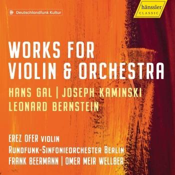 Cover Gál, Kaminski & Bernstein: Violin Concertos
