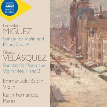 Cover Velásquez & Miguez: Violin Sonatas