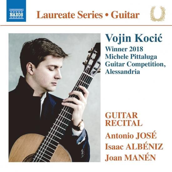 Cover José, Albéniz & Manén: Guitar Works