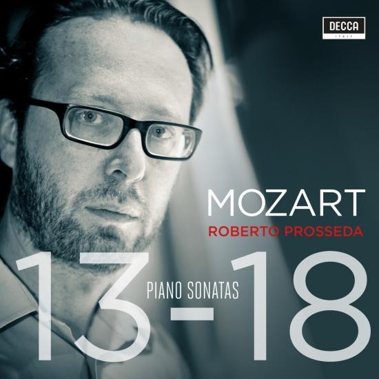 Cover Mozart: Piano Sonatas Nos. 13-18