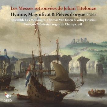Cover Les Messes retrouvées de Jehan Titelouze