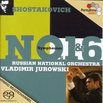 Cover Shostakovich: Symphonies Nos. 1 and 6