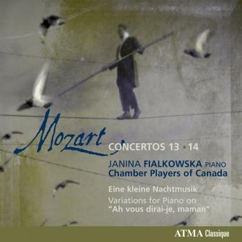 Cover Mozart: Concertos Nos. 13 & 14 (chamber version)