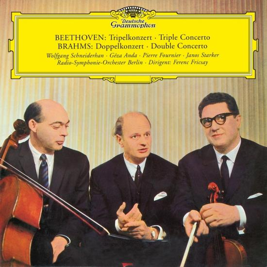 Cover Beethoven: Triple Concerto / Brahms: Double Concerto