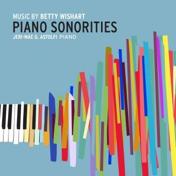Cover Betty Wishart: Piano Sonorities