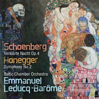 Cover Schoenberg & Honegger