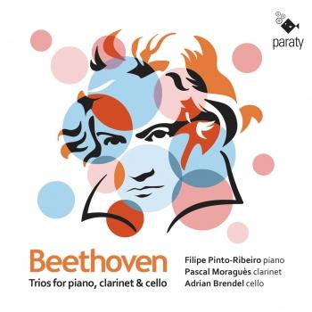 Cover Beethoven: Trios for piano, clarinet and cello, Ops. 11 & 38