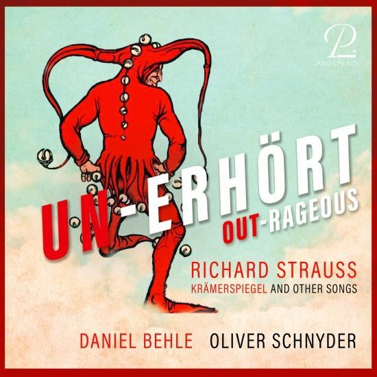 Cover Unerhört - Outrageaous. Krämerspiegel And Other Songs