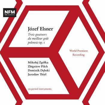 Cover Elsner: String Quartets Op. 1