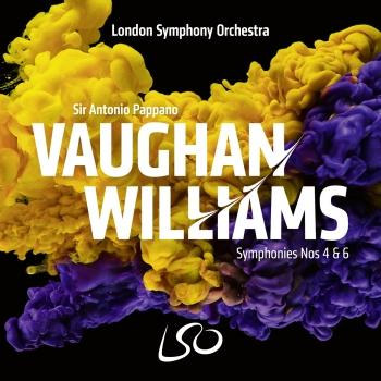 Cover Vaughan Williams: Symphonies Nos. 4 & 6