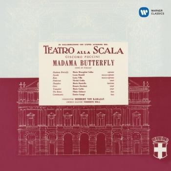 Cover Puccini: Madama Butterfly (1955 - Karajan) - Callas Remastered