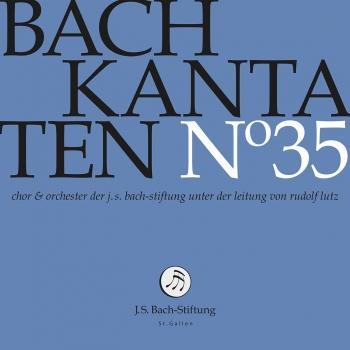 Cover Bach Cantatas, Vol. 35 (Live)