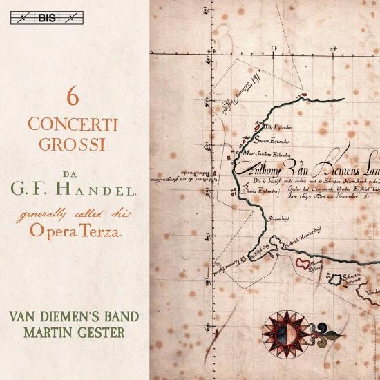 Cover Handel: 6 Concerti grossi, Op.3