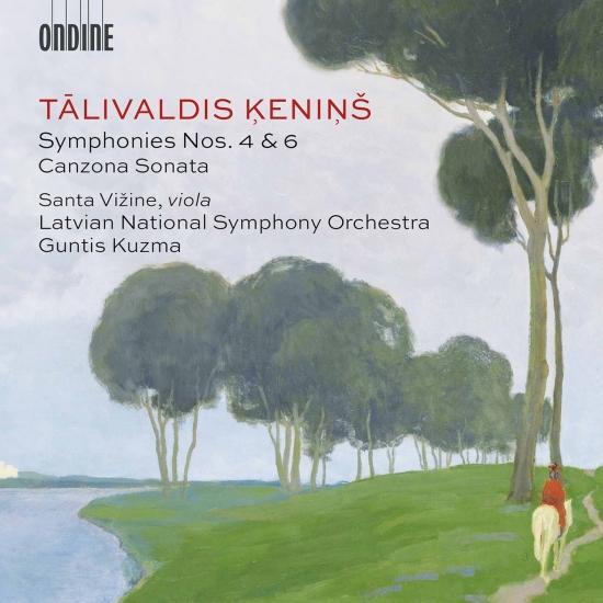 Cover Ķeniņš: Symphonies Nos. 4 & 6 & Canzona sonata