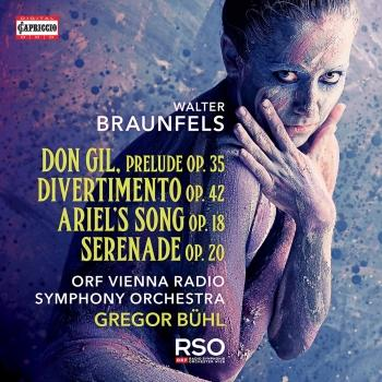 Cover Braunfels: Orchestral Works