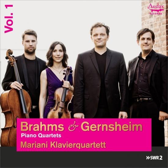 Cover Brahms & Gernsheim: Piano Quartets
