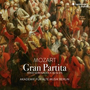 Cover Mozart: Gran Partita - Wind Serenades K. 361 & 375