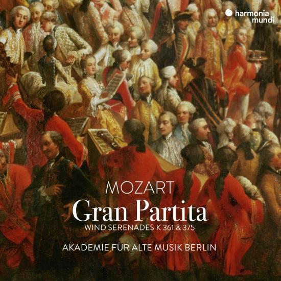 Cover Mozart: Gran Partita - Wind Serenades K. 361 & 375