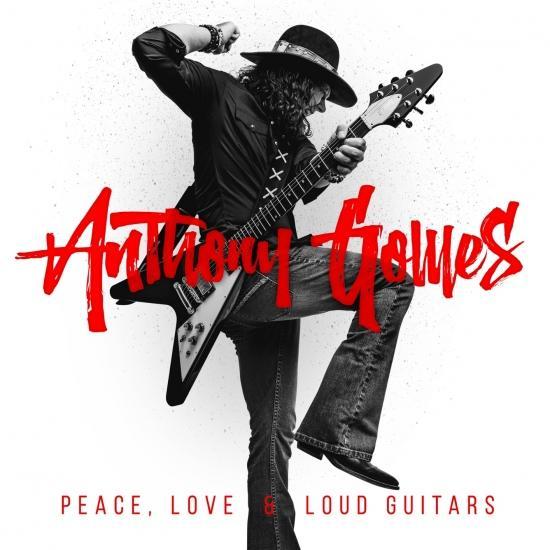 Cover Peace, Love & Loud Guitars