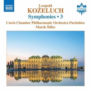 Cover Koželuch: Symphonies, Vol. 3