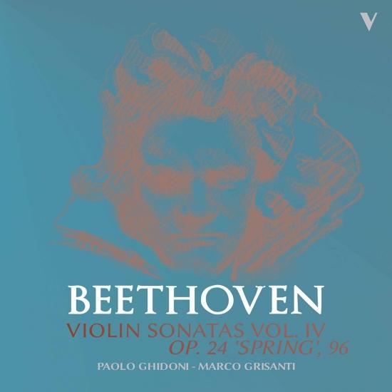 Cover Beethoven: Violin Sonatas, Vol. 4 – Op. 96 & 24