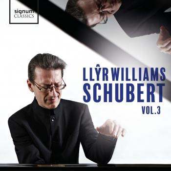 Cover Llŷr Williams: Schubert, Vol. 3