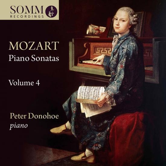 Cover Mozart: Piano Sonatas, Vol. 4