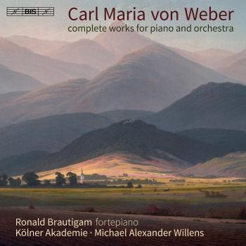 Cover Weber: Complete Works for Piano & Orchestra