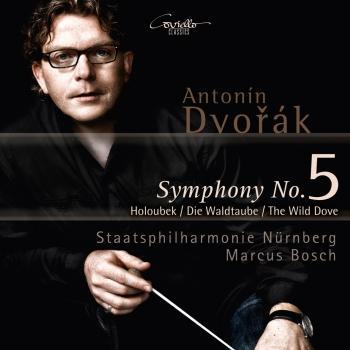 Cover Dvorak Symphony No. 5, Op. 76 & Symphonic Poem, The Wild Dove, Op. 110