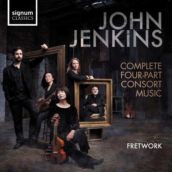 Cover John Jenkins: Complete Four-Part Consort Music
