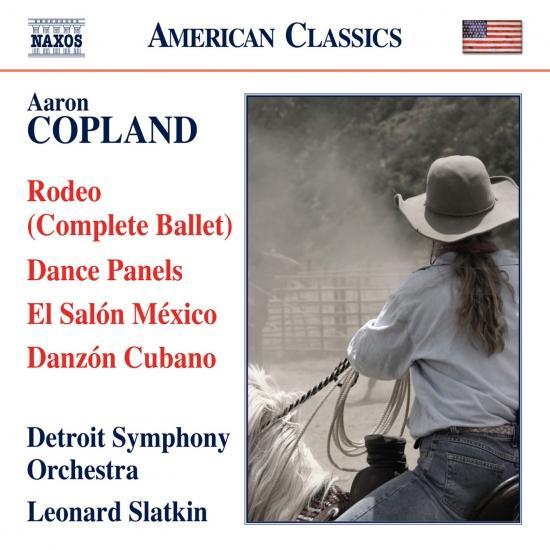 Cover Copland: Rodeo, Dance Panels, El Salón México & Danzón Cubano
