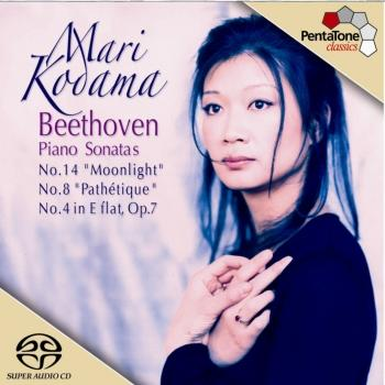 Cover Beethoven: Piano Sonatas Nos. 4, 8 and 14