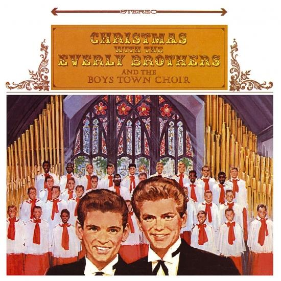 Cover Christmas With The Everly Brothers And The Boys Town Choir