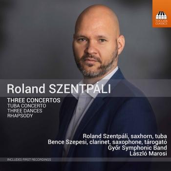 Cover Roland Szentpáli: 3 Concertos